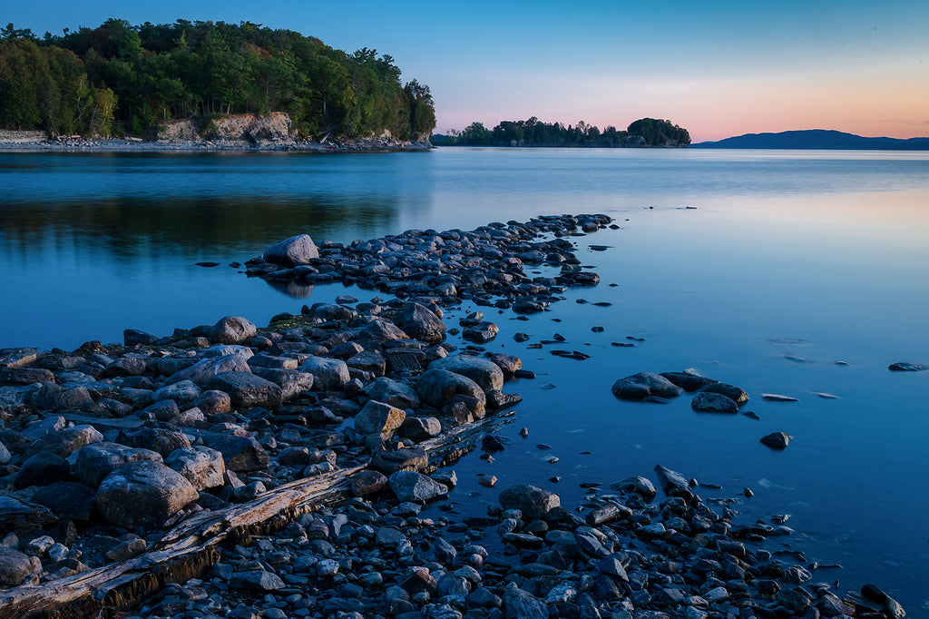 Lake Champlain shore