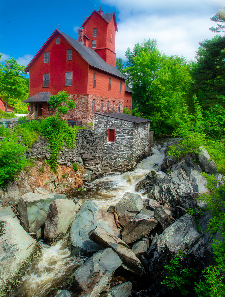 Old Red Mill, Jericho, VT