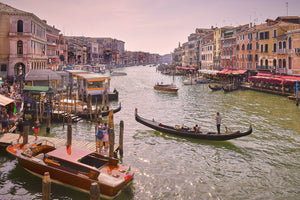 Photo of the Grand Canal, Venice, Italy