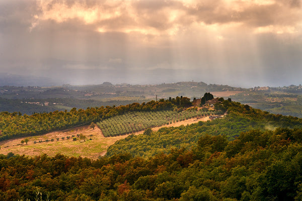 Chianti Countryside - Clearing Storm