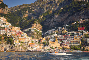 Beautiful Morning At Positano