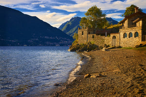 Castle at Santa Maria Rizzonico, Lake Como, Italy
