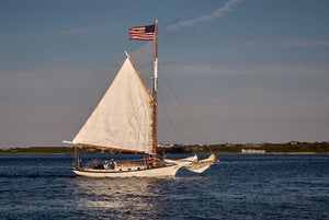 Sailboat - Nantucket Harbor
