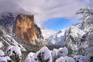 Departing Storm - Yosemite Valley