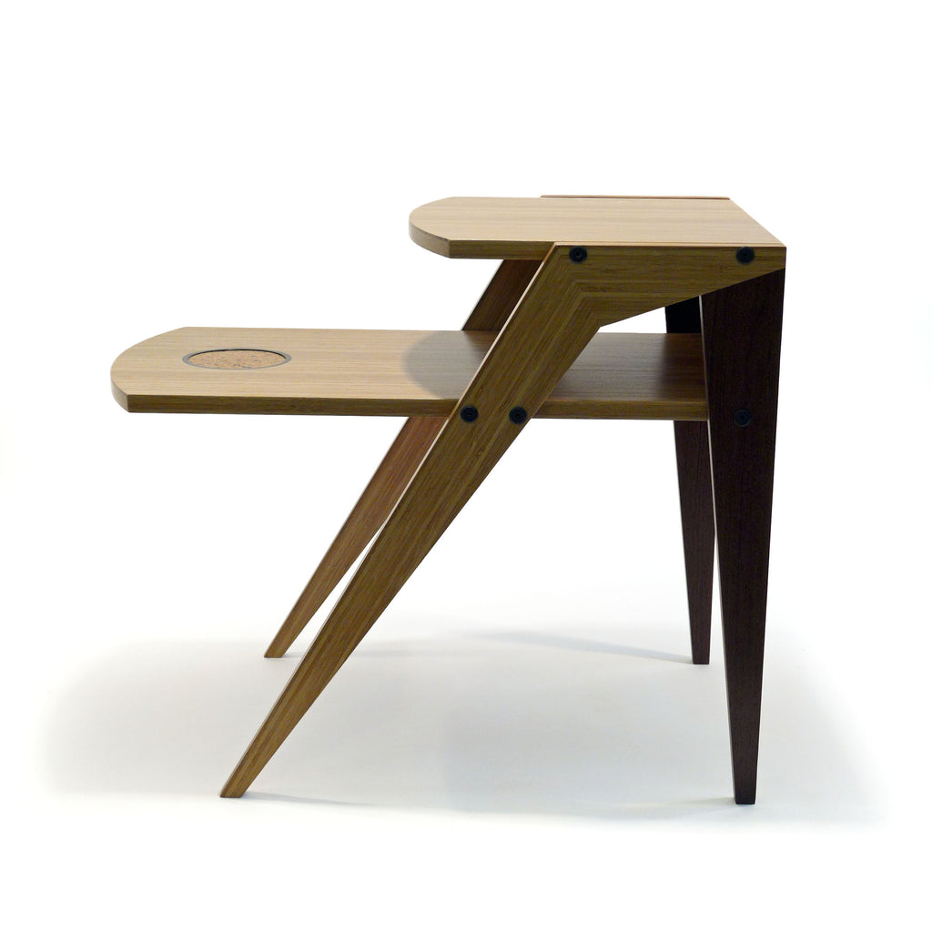 bamboo company furniture. Modern Bamboo End Table With Wenge Company Furniture