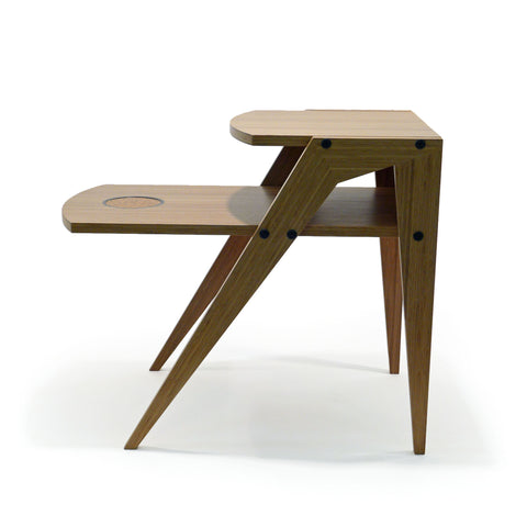 Chux Coaster Series modern bamboo end table