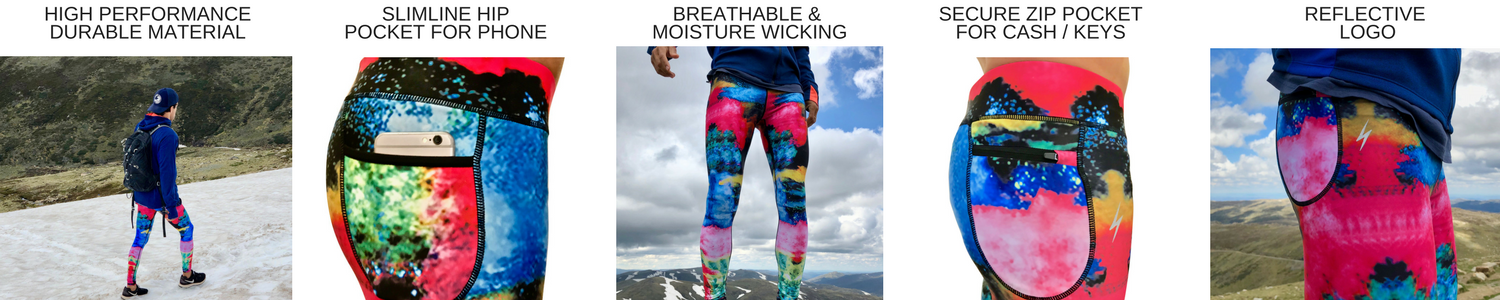 kapow performance leggings product features