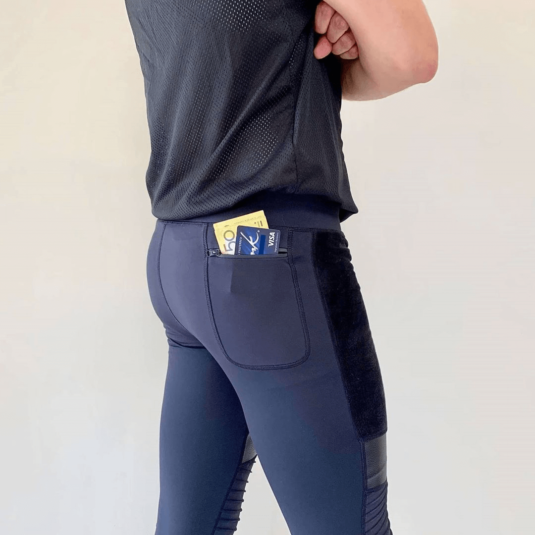 Meggings with pocket