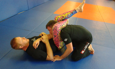 Jiu Jitsu Männer Leggings in Action