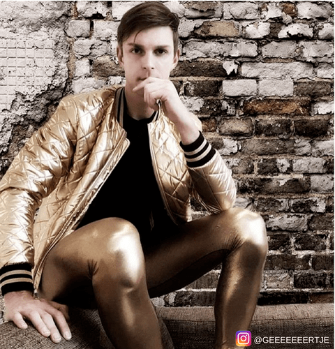 man-in-gold-metallic-mens-leggings-and-gold-jacket
