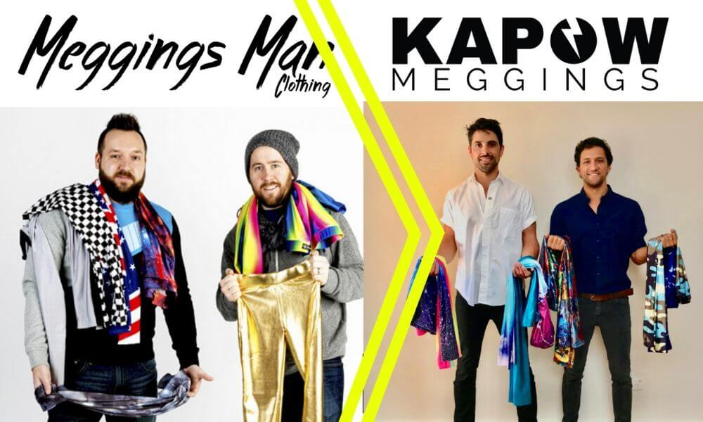Meggings Man Merges With Kapow Meggings
