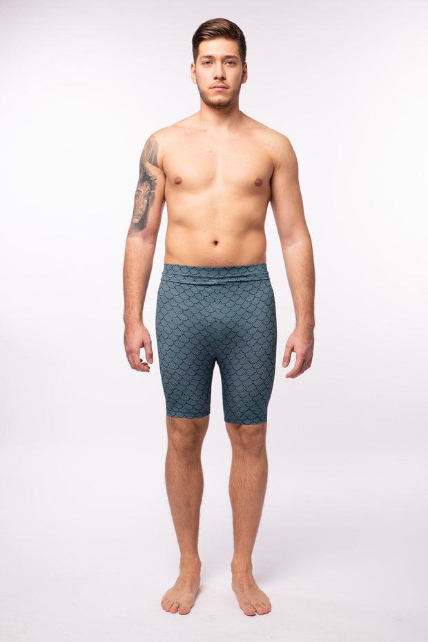 Merman Compression Shorts Meggings Shorts Kapow Meggings