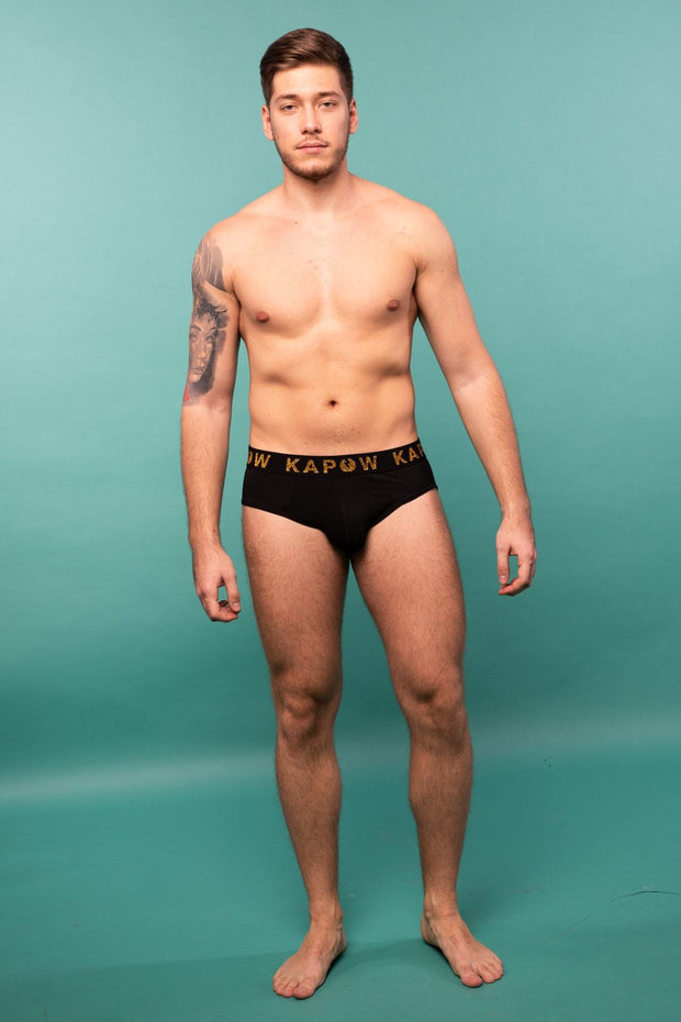 Black Underwear Briefs