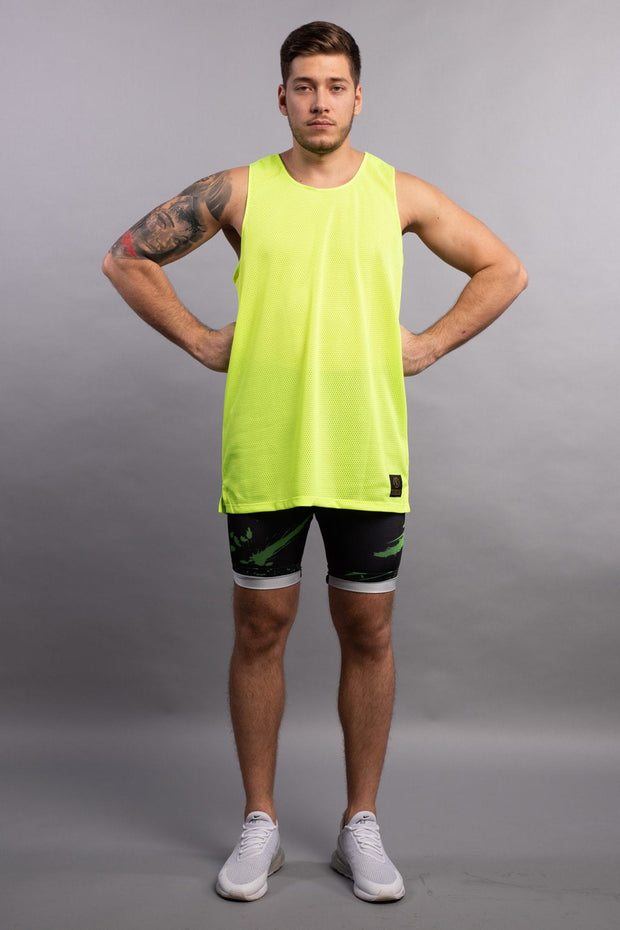 Aeromesh Sunstrike Action Tank Tank Tops Kapow Meggings