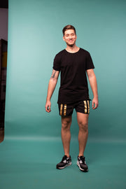 The Meggings Tee / Midnight Black T-Shirts Kapow Meggings