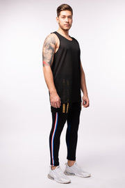Aeromesh Action Tank / Midnight Black