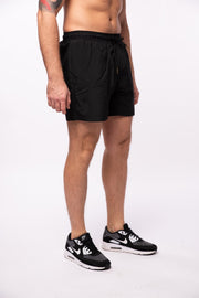 Action Shorts / Quick Dry / Midnight Black Shorts Kapow Meggings
