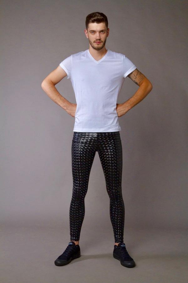 Black Magic Meggings - Holographic Holographic Meggings Kapow Meggings