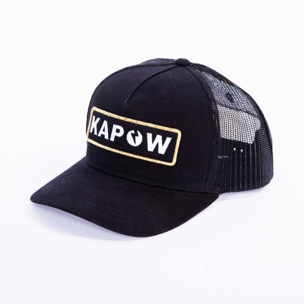 Black Label Trucker Hat Hats Kapow Meggings