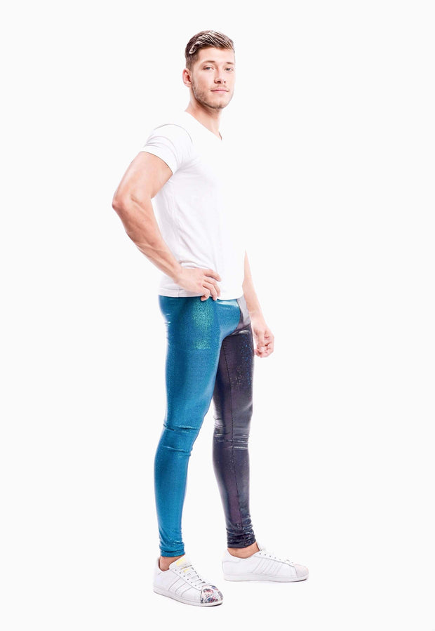 Equinox Meggings - Holographic Glitter Holographic Glitter Meggings Kapow Meggings