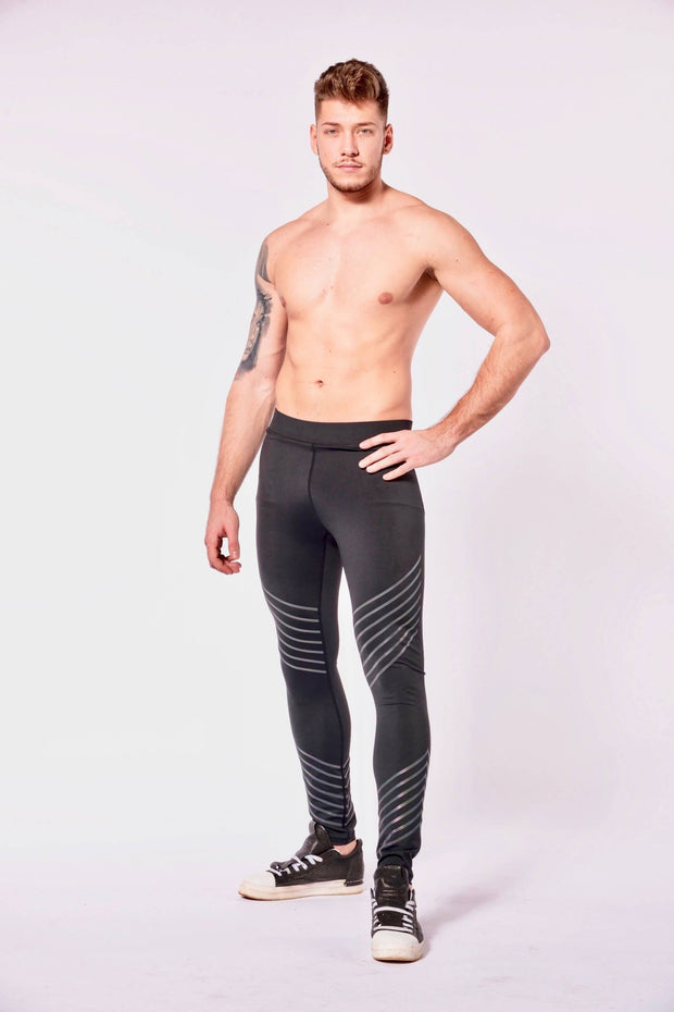 Hero Sonic Boom mens leggings shirtless