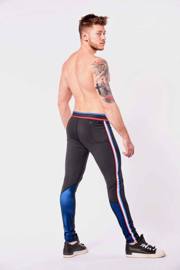 Hero vanquish mens leggings shirtless side