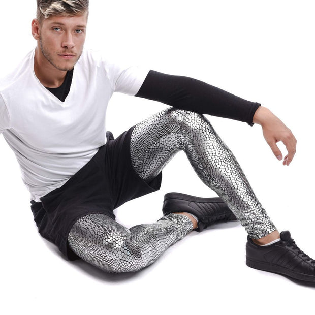 Jake the Snake Meggings - Metallic Metallic Meggings Kapow Meggings
