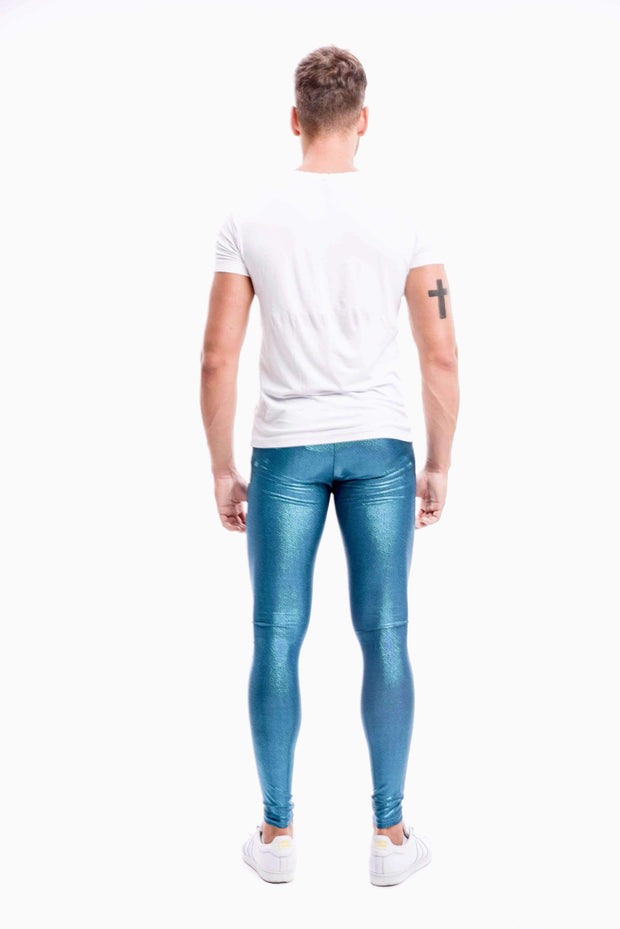 Poseidon Meggings - Holographic Glitter Holographic Glitter Meggings Kapow Meggings