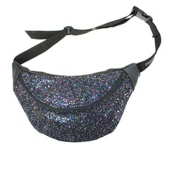 Petrol Glitter Bum Bag