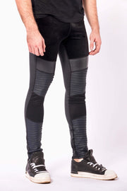 Sabre mens leggings close up