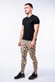 Leopard Print Compression Leggings