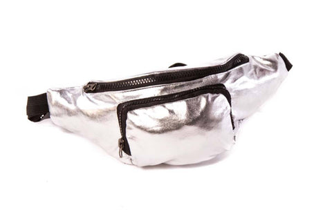 Silver Bullet Metallic Bum Bag