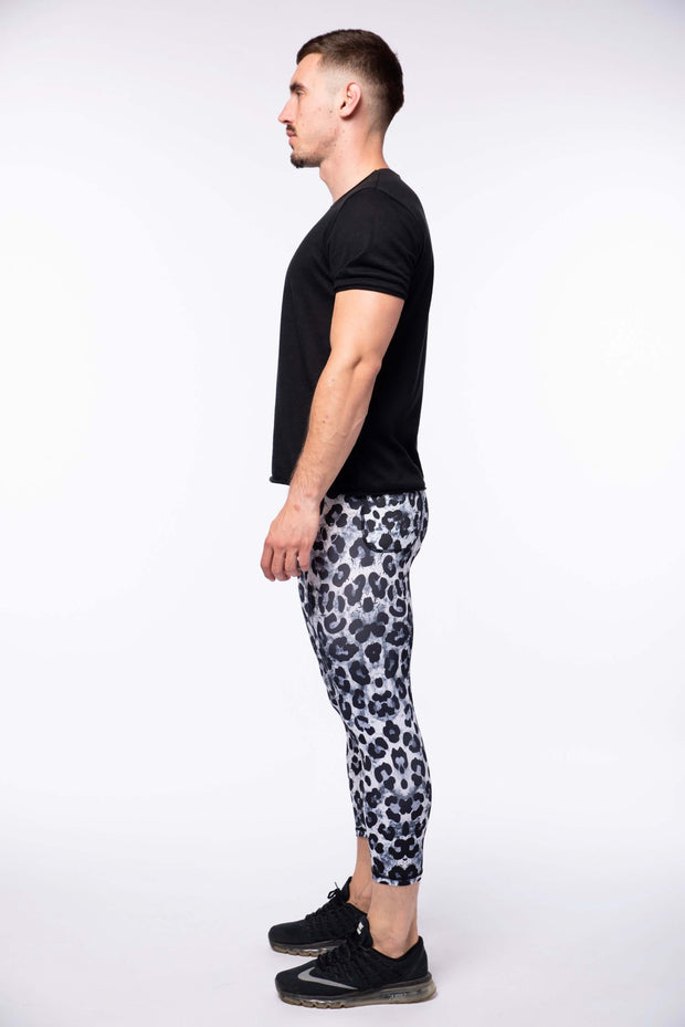 Snow Leopard ¾ Meggings