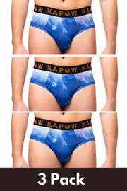 3 PACK Starlord Briefs
