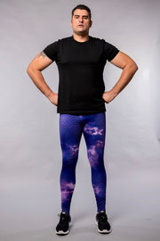 Purple Compression Leggings