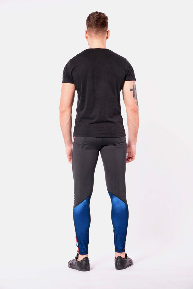 vanquish mens leggings back