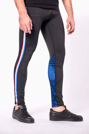 Vanquish mens leggings close up