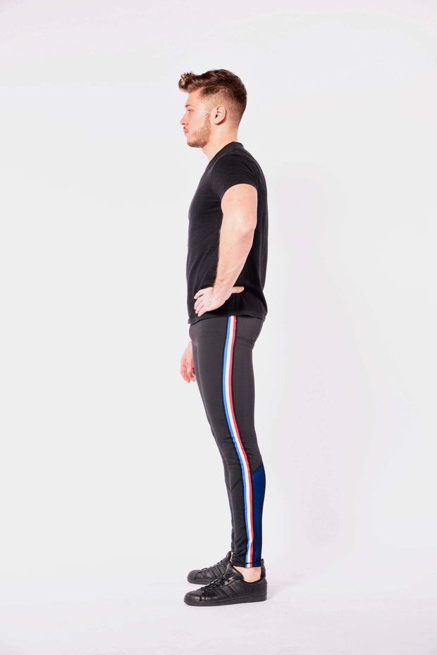 Vanquish mens leggings side