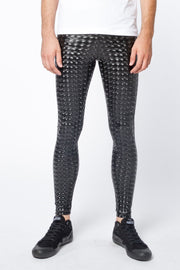 Black Magic Meggings - Holographic