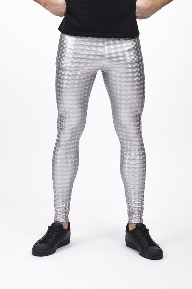 Magic Mirror Meggings - Holographic Holographic Meggings Kapow Meggings