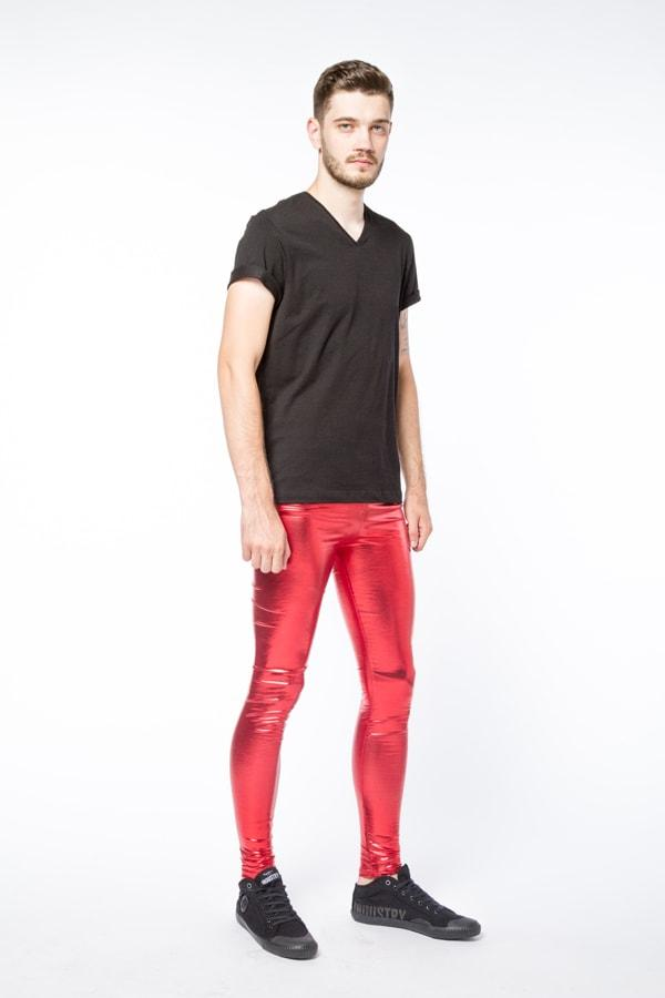red peril meggings side view