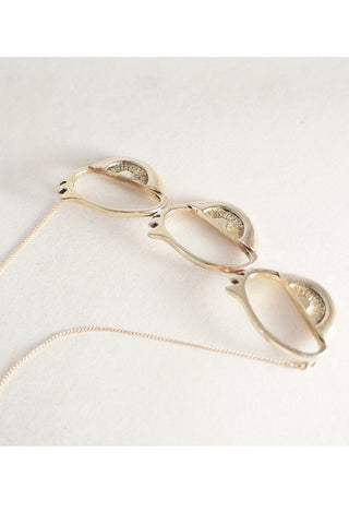 Aleister Eye Trio Necklace - LAB BY LAURA BUSONY