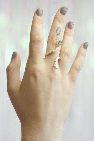 Swimming Serpent Ring - GOOD GIRL JEWELRY