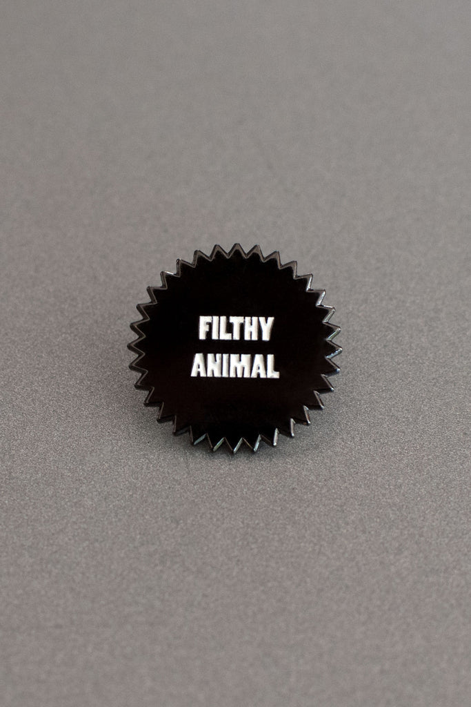 Filthy Animal Lapel Pin