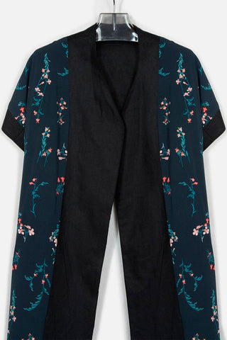 Gladiolus Reversible Long Cardigan - DRIFTER