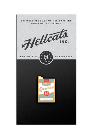 Smoke the Competition Lapel Pin - HELLCATS INC.