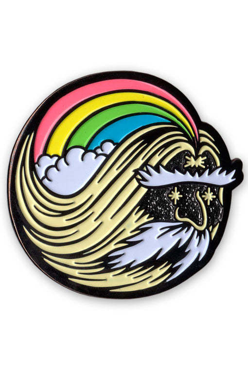 Rainbow Wizard Lapel Pin - NIGHT WATCH STUDIOS