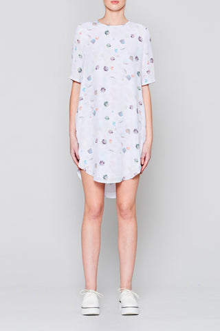 Paint Drop T-Shirt Dress - NATIVE YOUTH