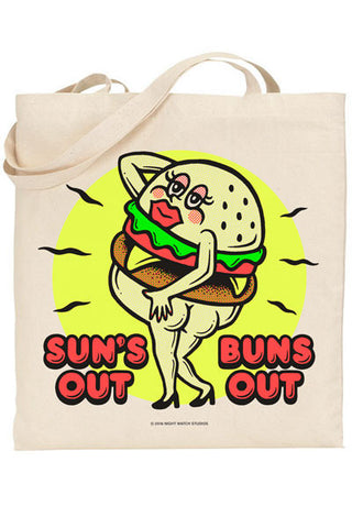 Sun's Out Buns Out Tote - NIGHT WATCH STUDIOS