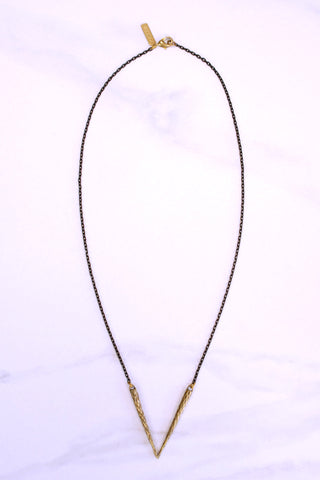 Pistil V Necklace - K/LLER COLLECTION